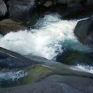 Flowing Waters, Josephine Falls, Tropical FNQ  by Kerryn Madsen-Pietsch