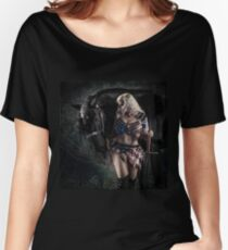 Warrior and Friesian 1 Women's Relaxed Fit T-Shirt