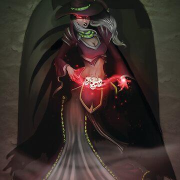 Dark Sorceress by HelenAimee