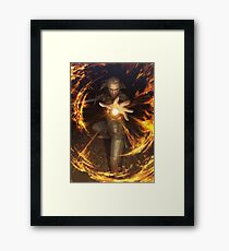 The Witcher - Igni Framed Print