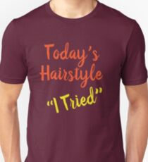 Today's Hairstyle Design Unisex T-Shirt