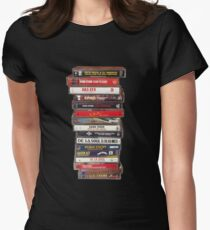 #raptapes Womens Fitted T-Shirt