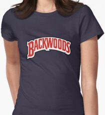 Backwoods Cigar Women's Fitted T-Shirt