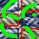 «Collage con efecto chevron» de Ellen Turner