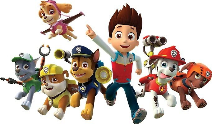 Paw Patrol All Together By Mpocai Redbubble