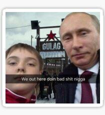 Vladimir Putin- snapchat gulag Sticker