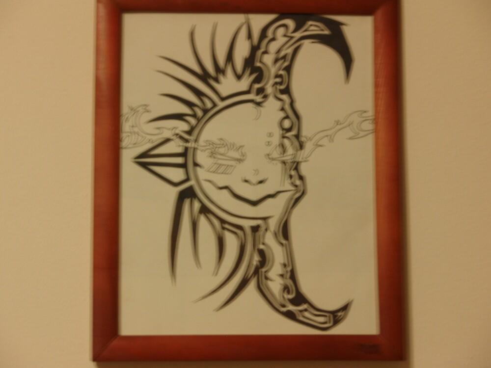 sun and moon by thomasortiz