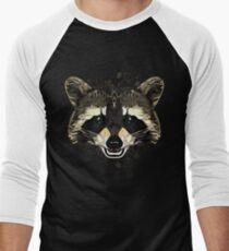 Raccoon Men's Baseball ¾ T-Shirt