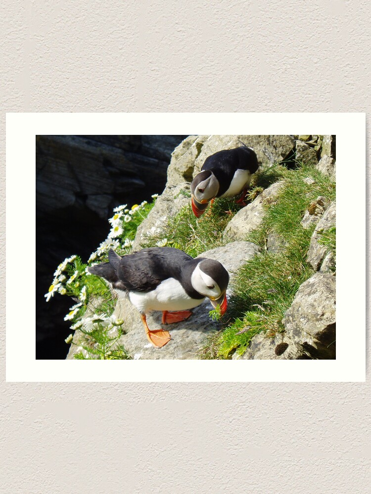 Alternate view of Housework - Puffin Style Art Print