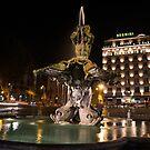 Rome's Fabulous Fountains - Bernini's Fontana del Tritone by Georgia Mizuleva
