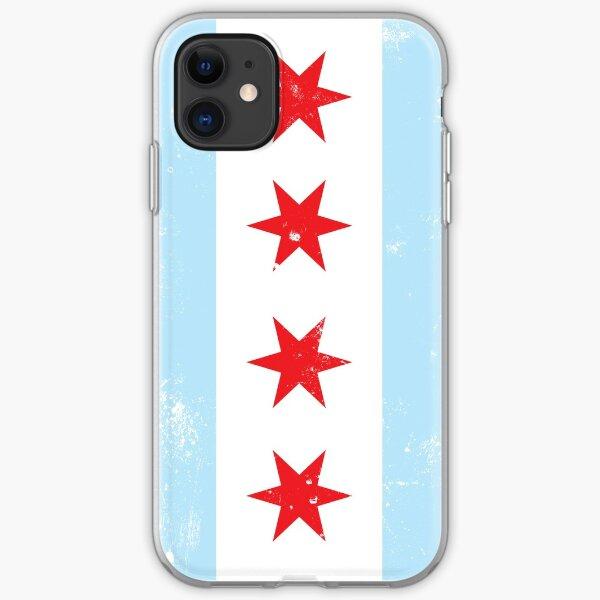 Chicago Flag iPhone Case iPhone Soft Case