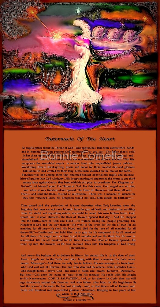 Tabernacle Of The Heart [with story] by Bonnie Comella