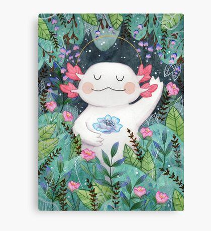 the flower guardian Canvas Print