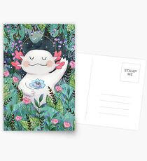 the flower guardian Postcards