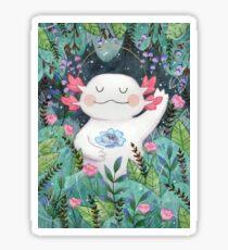 the flower guardian Sticker