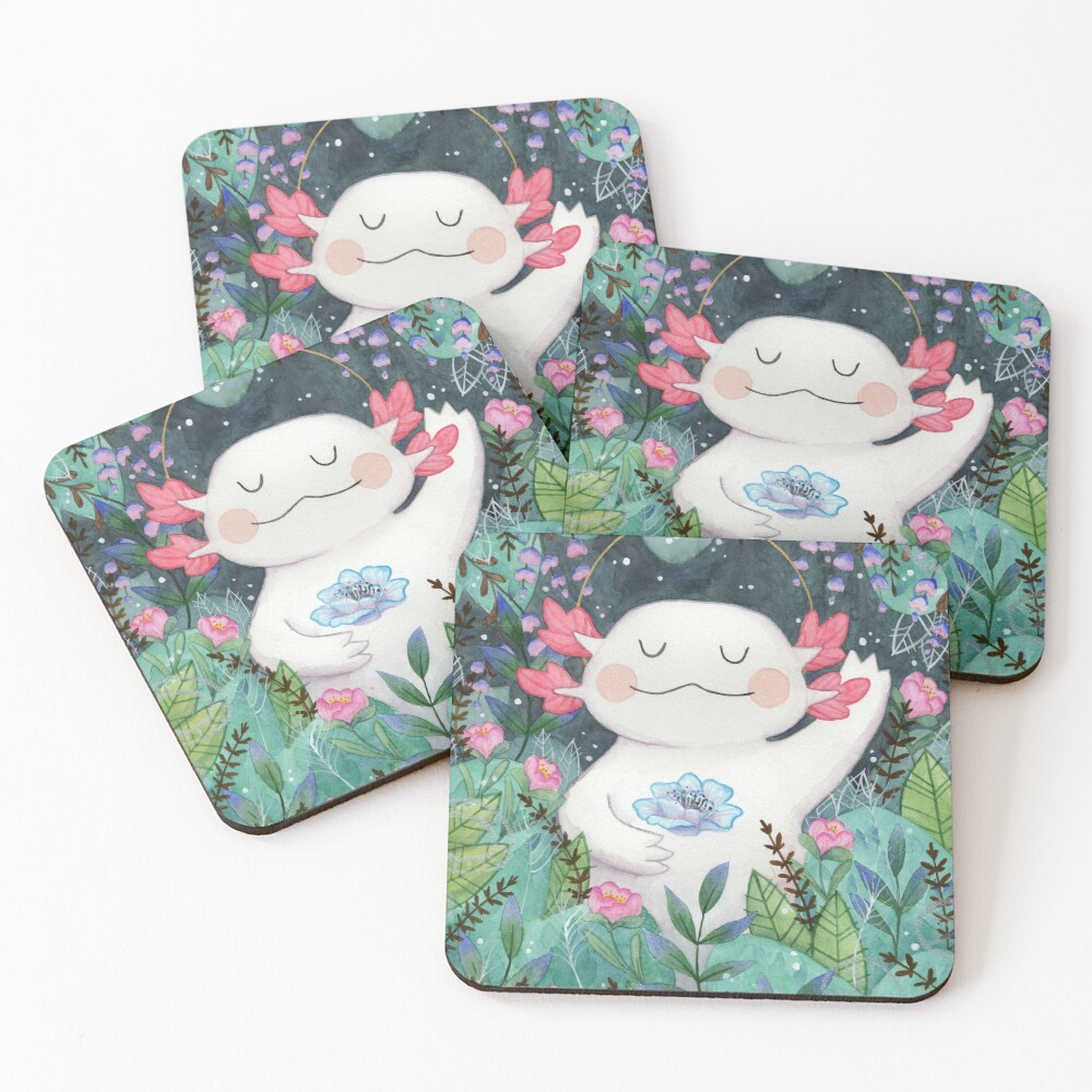 the flower guardian Coasters (Set of 4)