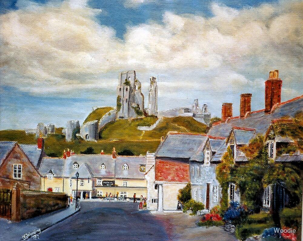 Corfe Castle, Dorset by Woodie