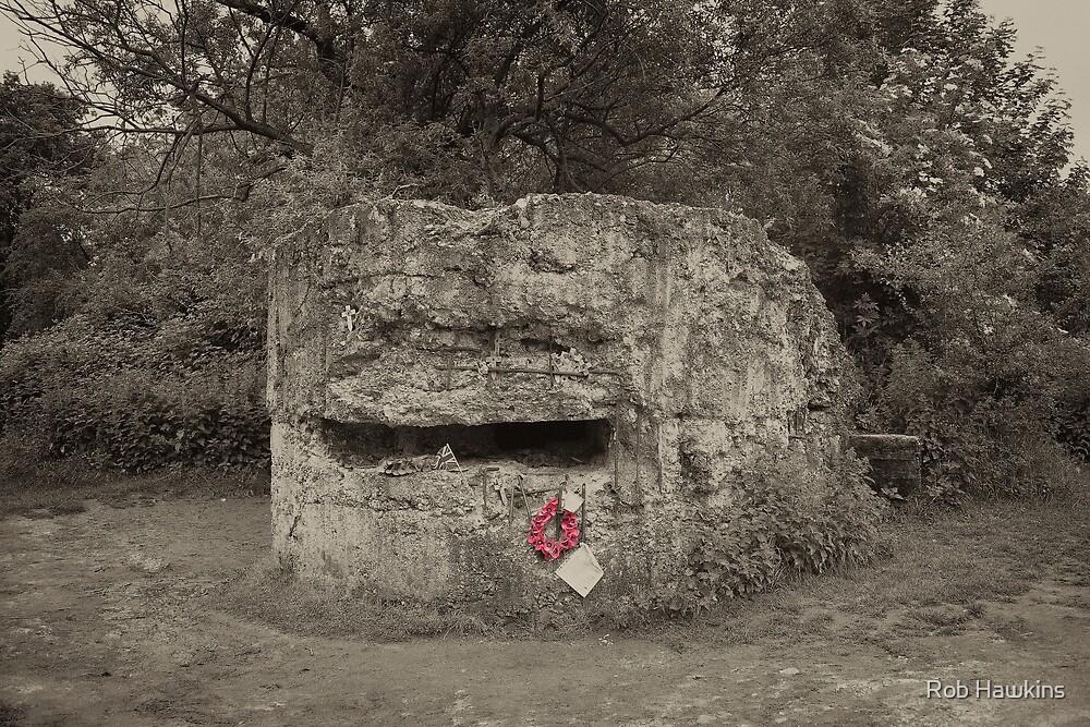 WW1 Bunker  by Rob Hawkins