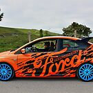 Orange and Blue Ford ST Graphics by Vicki Spindler (VHS Photography)