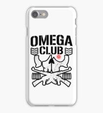 Omega club iPhone Case/Skin