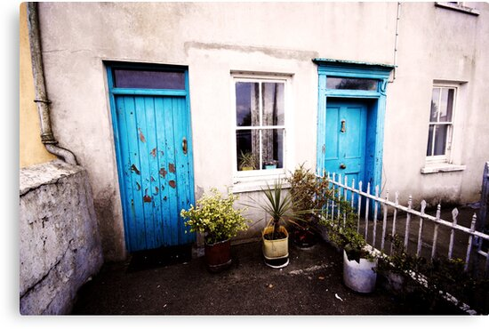Tourquoise Doors by Donncha O Caoimh