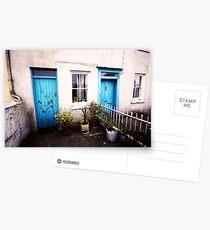 Tourquoise Doors Postcards