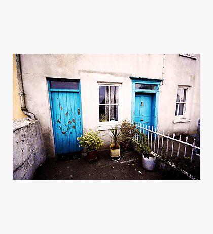 Tourquoise Doors Photographic Print