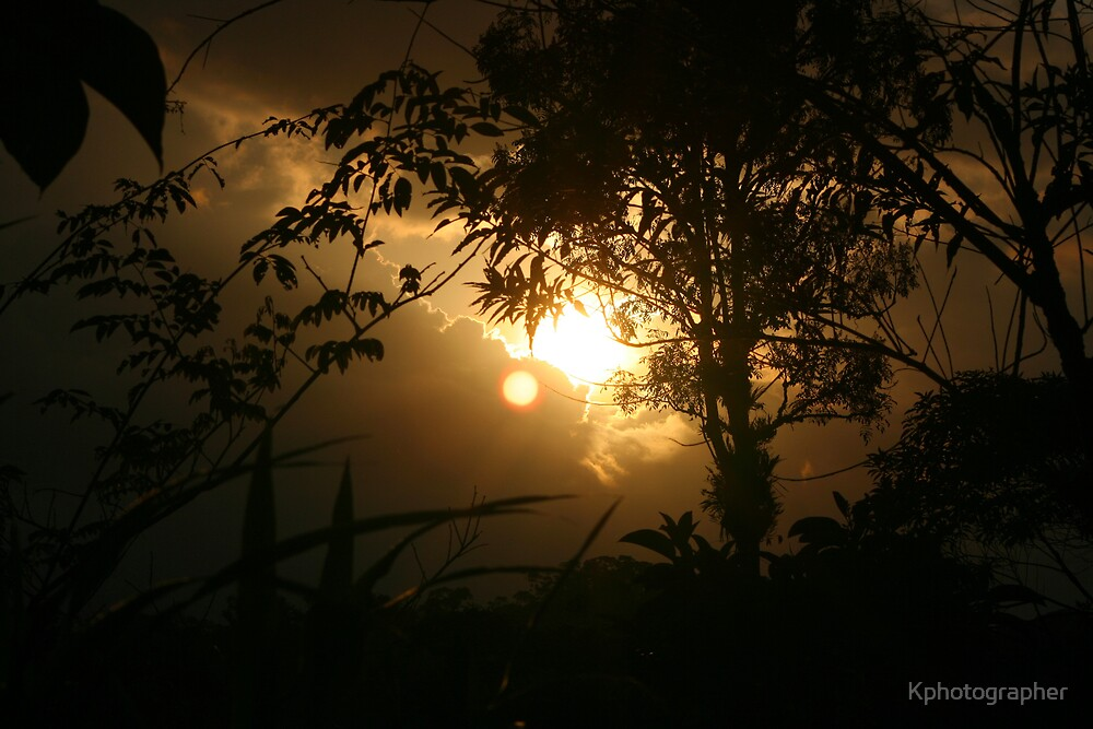 Amazonian Sunset by Kphotographer