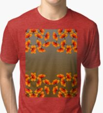 poppy patterns 2 Tri-blend T-Shirt