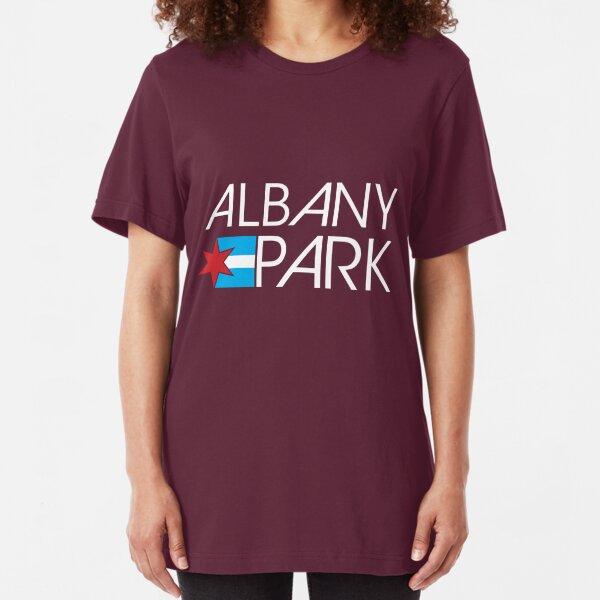 Albany Park Neighborhood Tee (Dark) Slim Fit T-Shirt