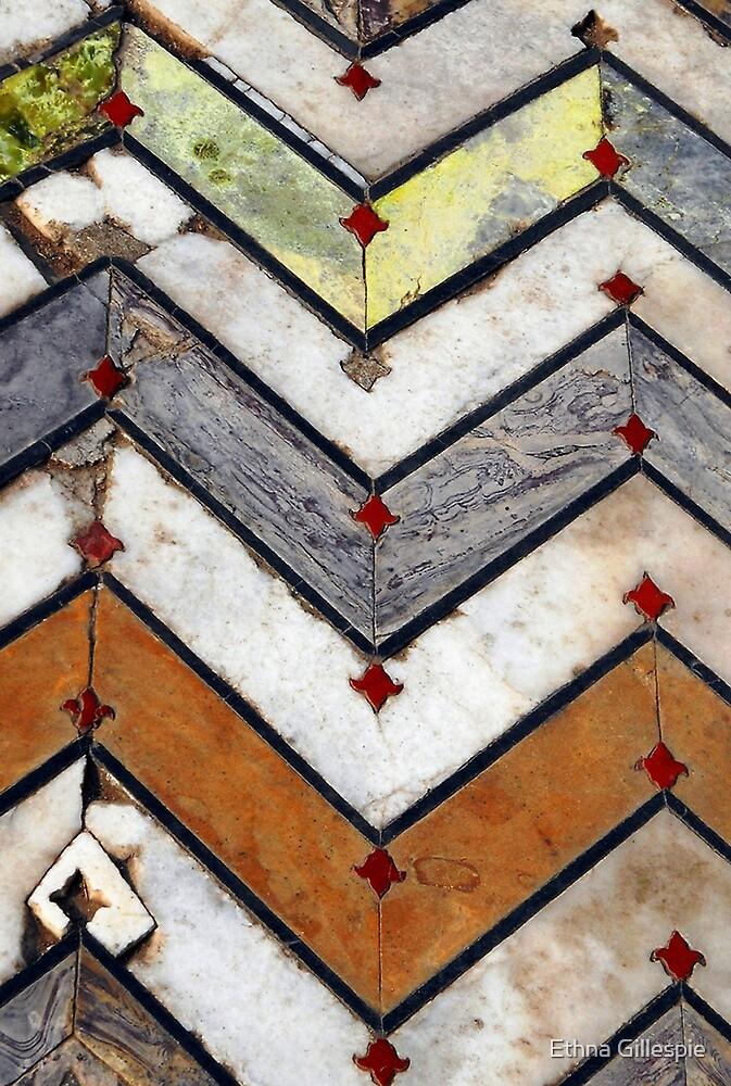 Marble Floor  by Ethna Gillespie