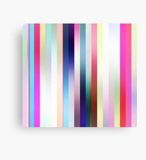 Candy Stripes Canvas Print