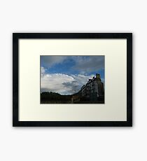 Roller-coaster housing Framed Print