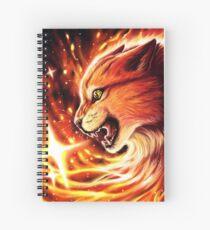 Fire Star Spiral Notebook