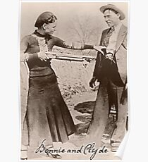 Bonnie and Clyde I Poster