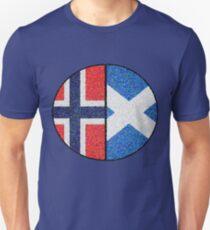 Scottish Norwegian Artistic Cultural Roots T-Shirt