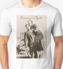 Bonnie and Clyde II Unisex T-Shirt