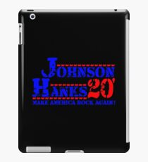 Johnson Hanks For President 2020 iPad Case/Skin