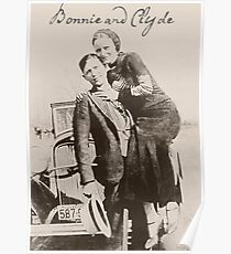 Bonnie and Clyde II Poster