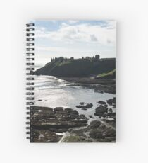 Dunnottar Castle Scotland Low Tide Spiral Notebook