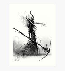 Death Lord Art Print