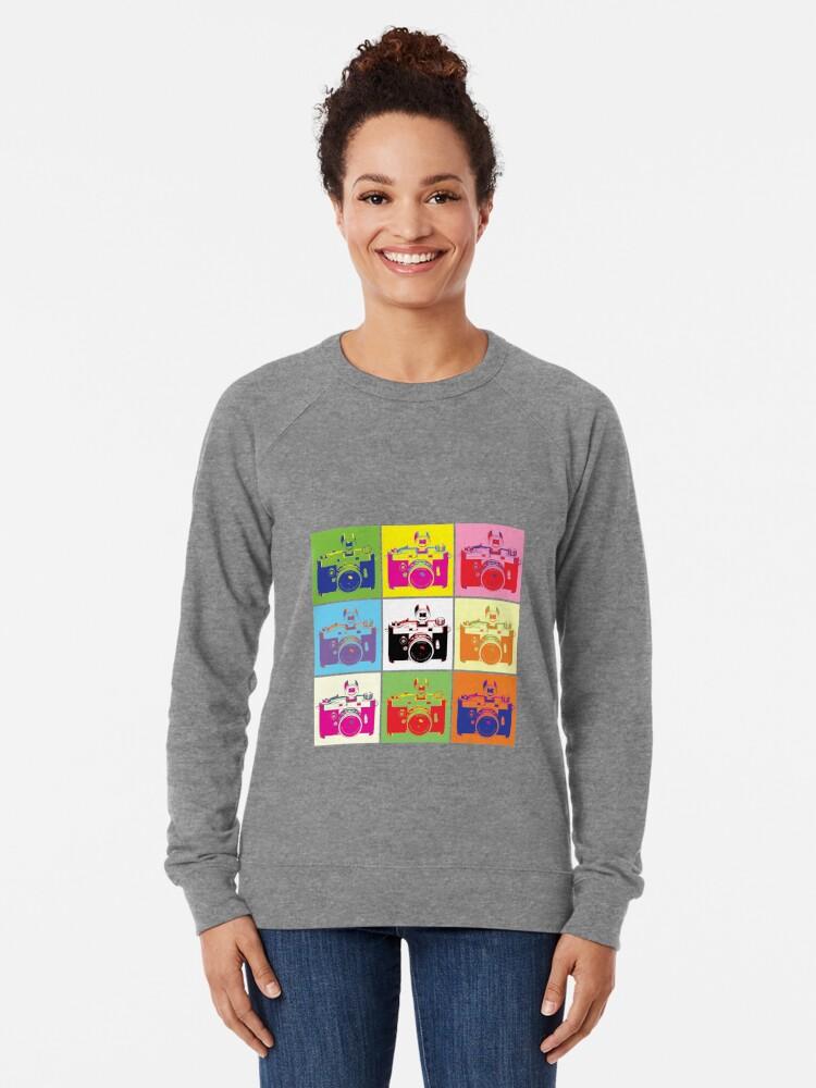 Alternative Ansicht von Ich erschieße Menschen Leichter Pullover