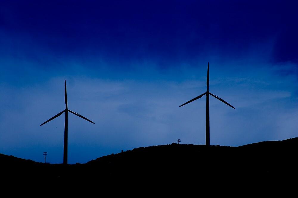 Windmills by kevomanno
