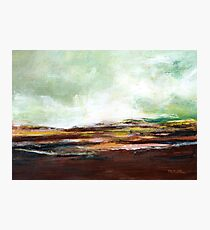 Abstract Moorland Photographic Print