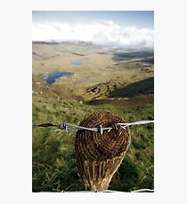 Clouds over the Conor Pass Photographic Print