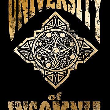 University of Insomnia-FFXV by gysahlgreens