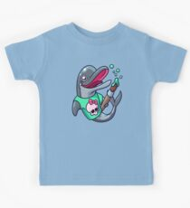 Artistic Dolphin 2 Kids Tee