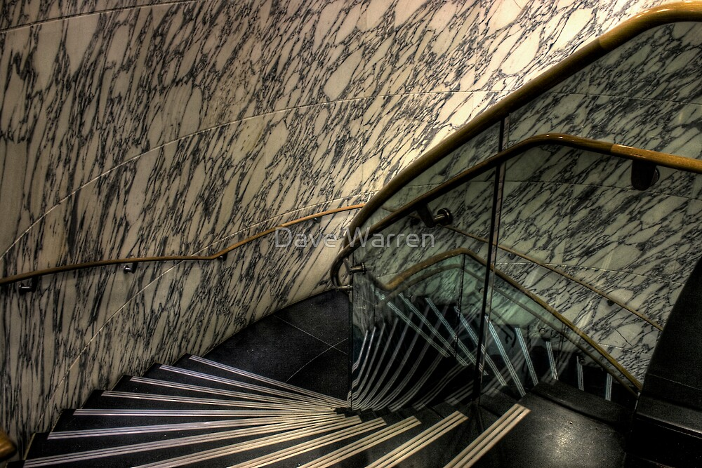 The Marble Staircase by Dave Warren