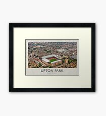 Vintage Football Grounds - Upton Park (West Ham United FC) Framed Print