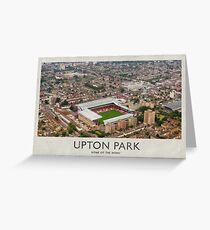 Vintage Football Grounds - Upton Park (West Ham United FC) Greeting Card